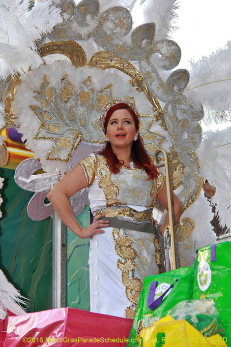 Krewe of Alla �2016 Jules F. Richard IV; ALL RIGHTS RESERVED