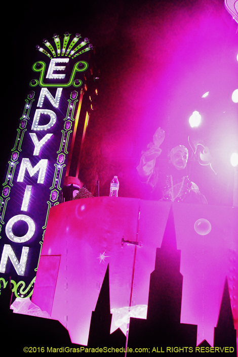 Krewe of Endymion �2016 Jules F. Richard IV; ALL RIGHTS RESERVED