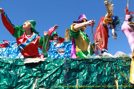 Krewe of Mid-City - photograph by Jules Richard