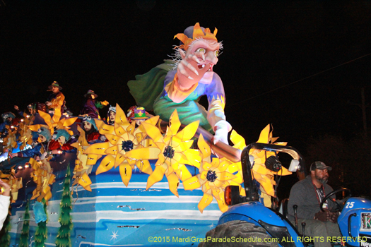 endymion parade route length